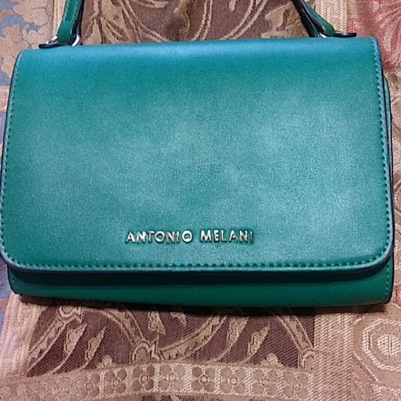 ANTONIO MELANI Handbags - AMTONIO MELANI KELLY GREEN WOMEN'S SHOULDER BAG